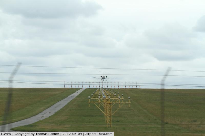 Vienna International Airport, Vienna Austria (LOWW) - landing on runway 34