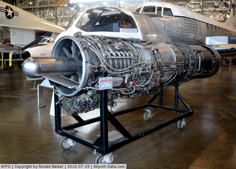 Wright-patterson Afb Airport (FFO) - AF Museum  J79-GE-15A  for F-4C