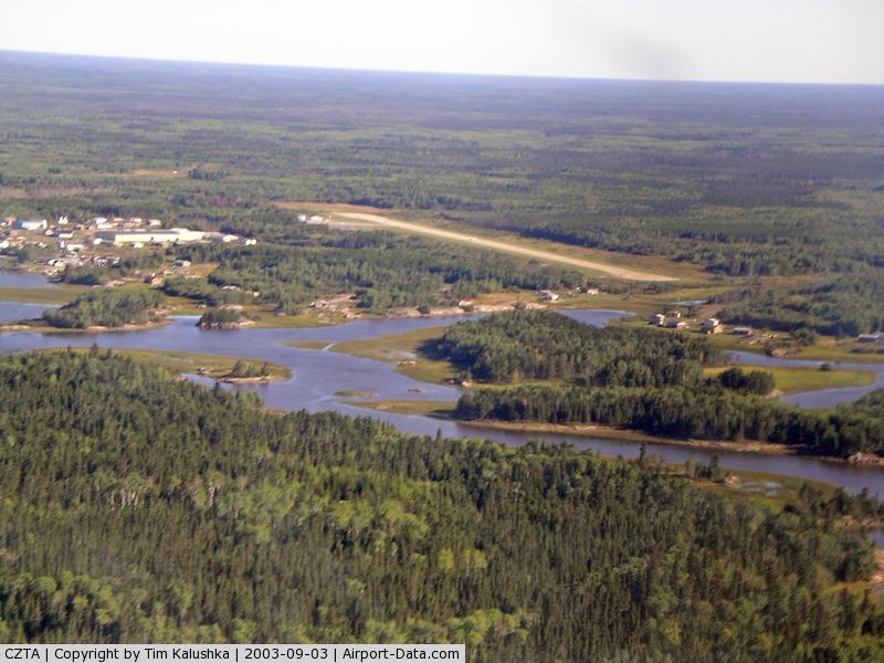 Bloodvein River Airport, Bloodvein River, Manitoba Canada (CZTA) - Bloodvein Airport looking East