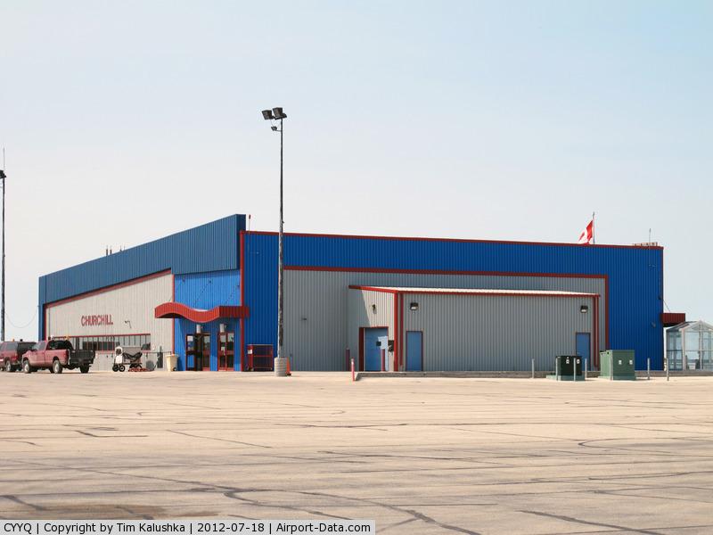 Churchill Airport, Churchill, Manitoba Canada (CYYQ) - Churchill Terminal Building