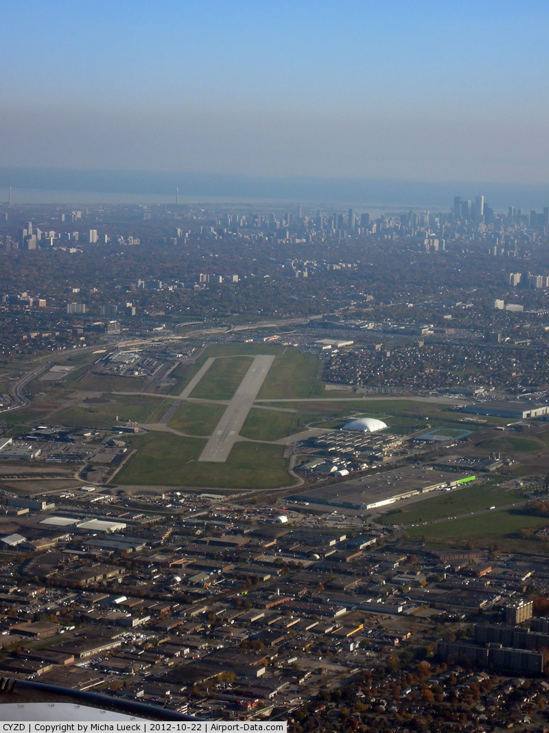 Toronto/Downsview Airport (Downsview Airport), Toronto, Ontario Canada (CYZD) - Taken from A 340-600 D-AIHI