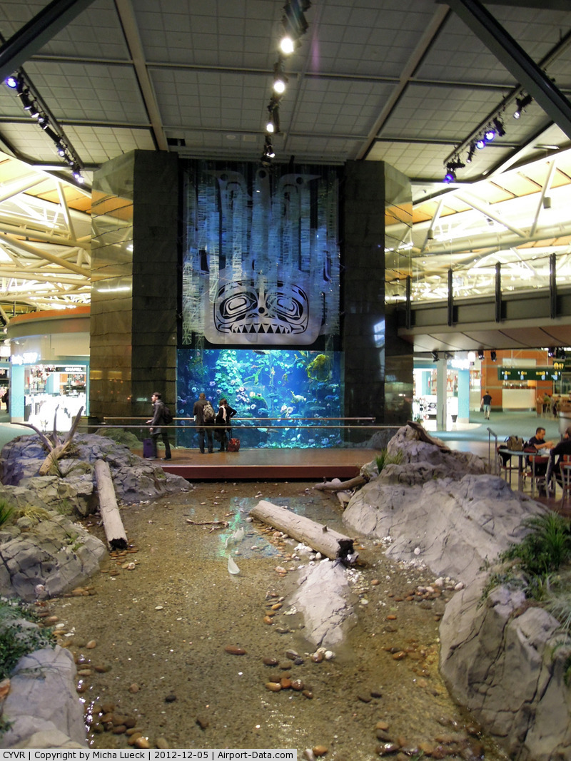 Vancouver International Airport, Vancouver, British Columbia Canada (CYVR) - Beautiful International Terminal