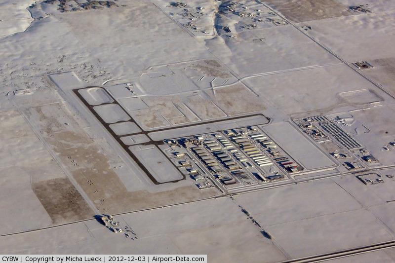 Calgary/Springbank Airport (Springbank Airport), Calgary, Alberta Canada (CYBW) - Taken from C-FMZW enroute YYC-YVR