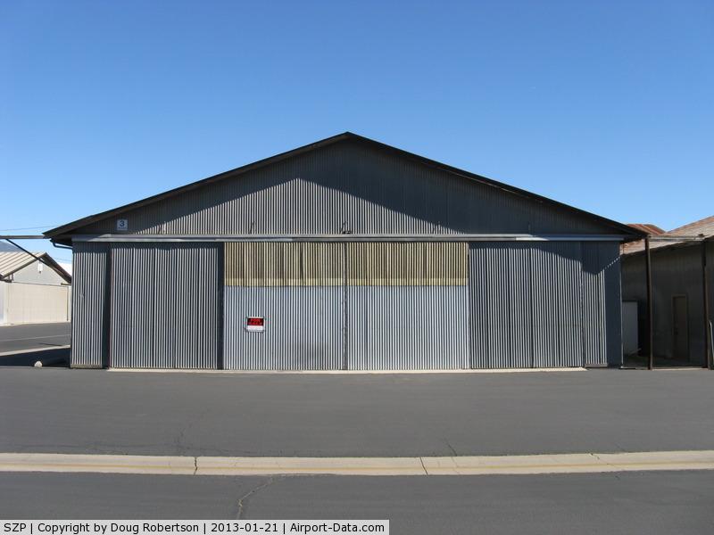 Santa Paula Airport (SZP) - Hangar FOR SALE-3 Stearman Taxi