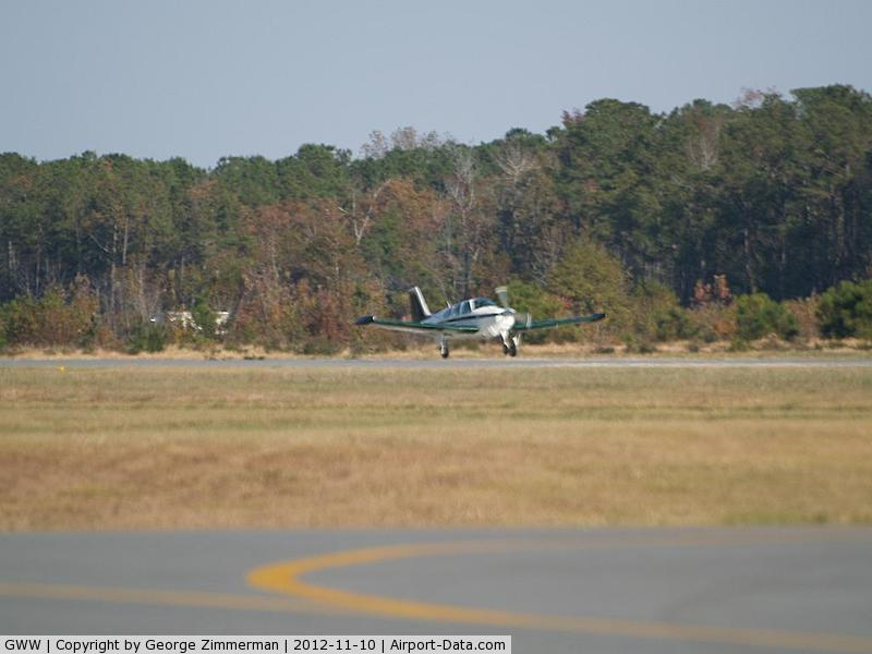 Wayne Executive Jetport Airport (GWW) - Takeoff roll
