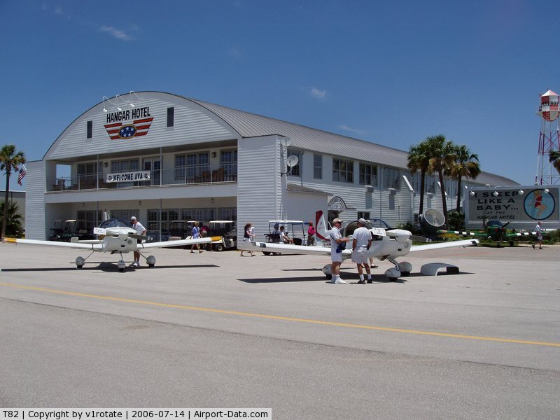 Gillespie County Airport (T82) - Hangar Hotel - American Yankee Association Convention