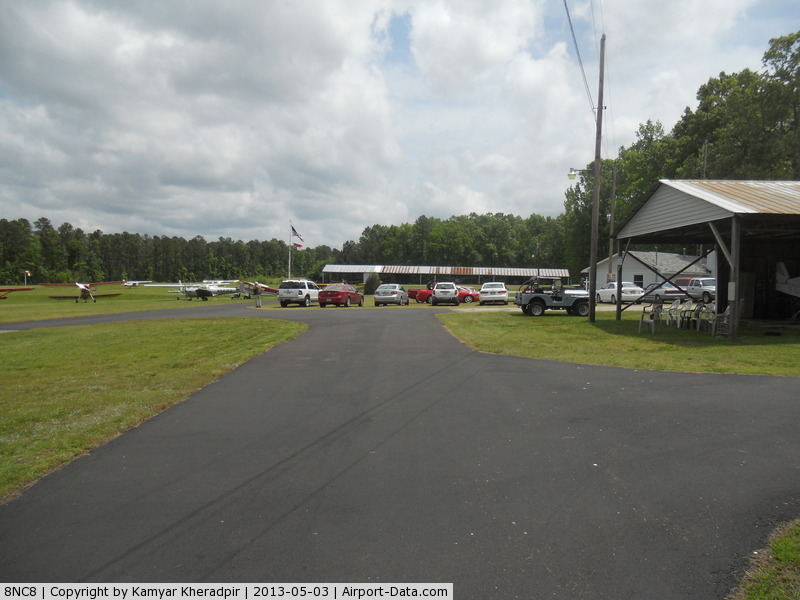 Lake Ridge Aero Park Airport (8NC8) - Runway is parallel with the tree on left