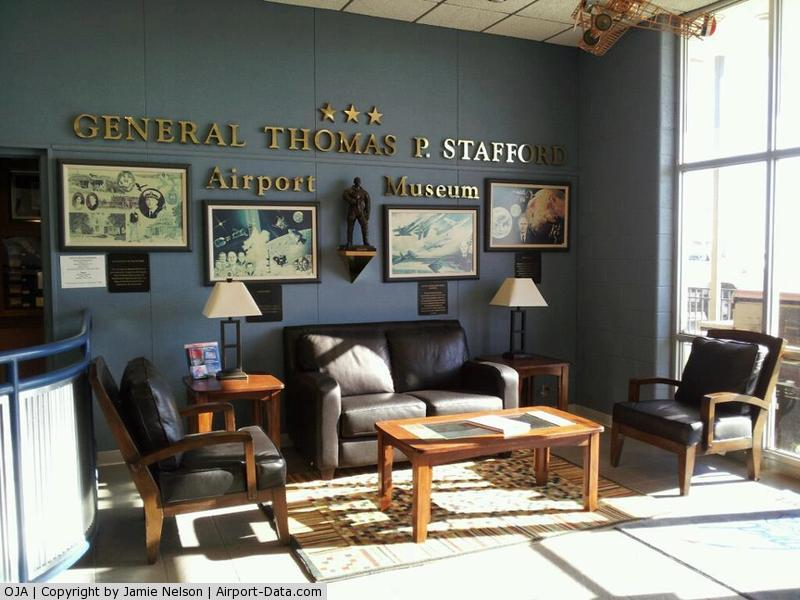 Thomas P Stafford Airport (OJA) - Main Lobby at Weatherford-Stafford Airport