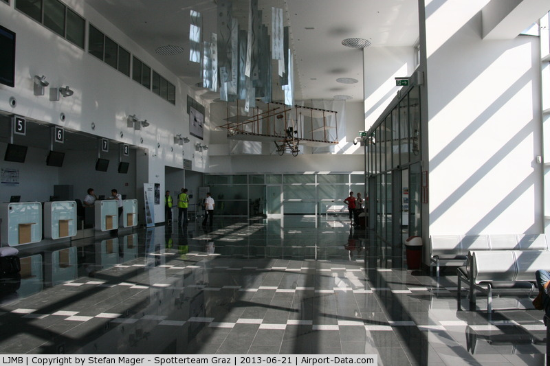 Maribor Airport, Maribor Slovenia (LJMB) - New terminal at Maribor