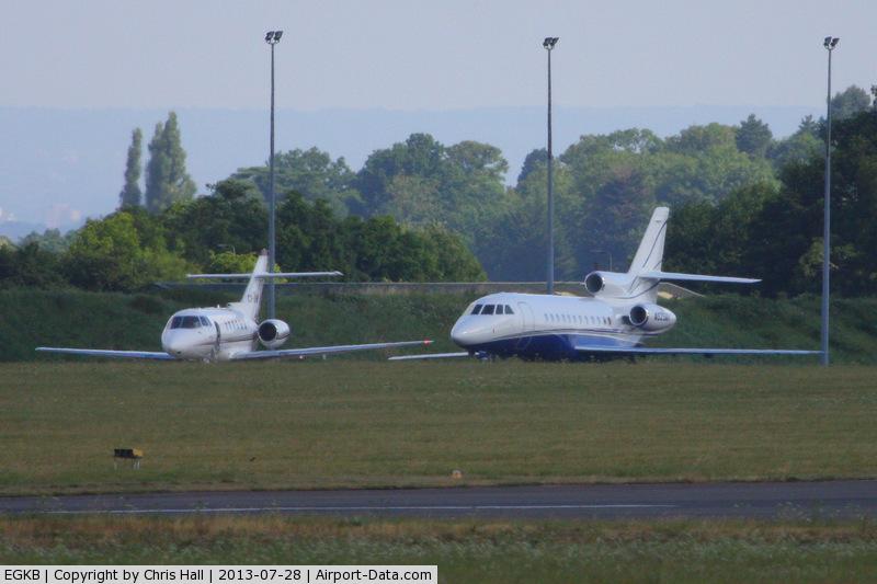 London Biggin Hill Airport, London, England United Kingdom (EGKB) - Bizjets at Biggin Hill