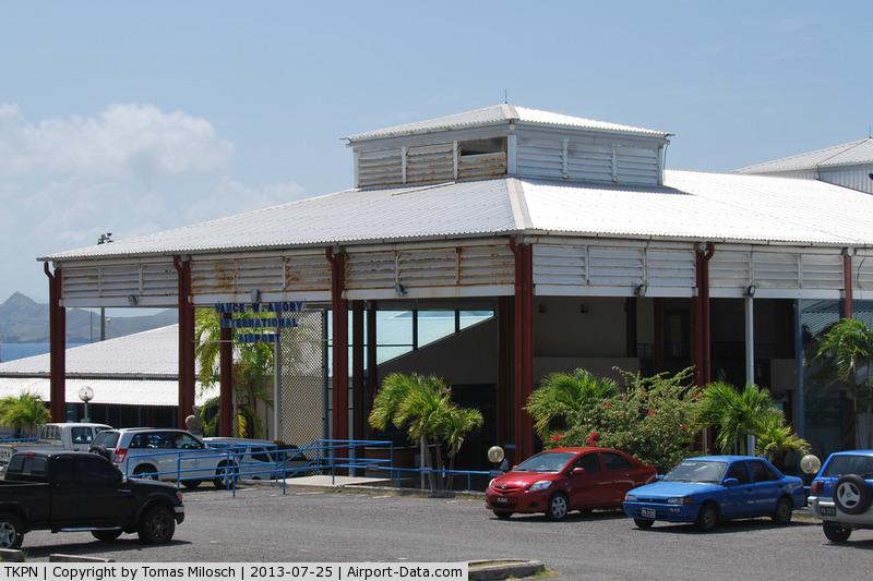 Vance W. Amory International Airport, Charlestown, Nevis Saint Kitts and Nevis (TKPN) - Terminal building