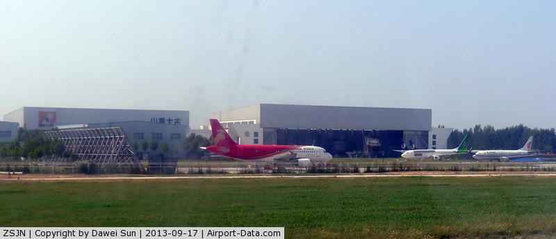 Jinan Yaoqiang Airport, Jinan, Shandong China (ZSJN) - Jinan