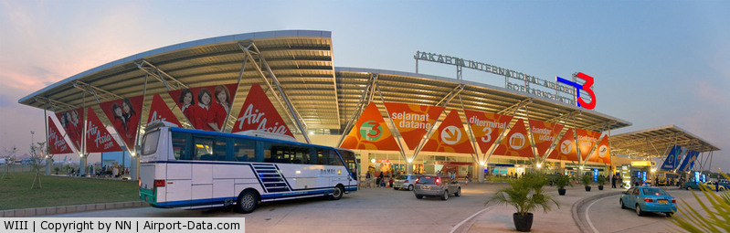 Soekarno-Hatta International Airport, Cengkareng, Banten (near Jakarta) Indonesia (WIII) - Soekarno-Hatta International Airport, Jakarta - Terminal 3 (Used as temporary LCCT. Recently, the extension works is under-construction. The new terminal-3 will be opened in early 2015)