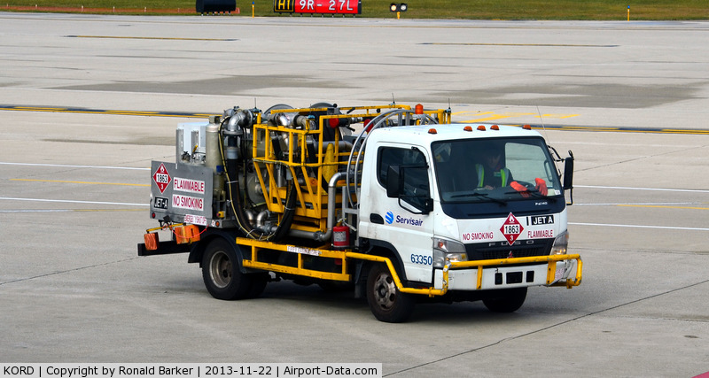 Chicago O'hare International Airport (ORD) - Fuel truck 63350 with Jet A O'Hare