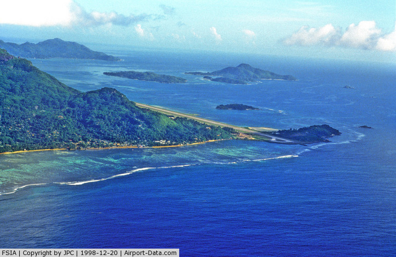 Seychelles International Airport, Mahe Island Seychelles (FSIA) - Seychelles International, end of runway