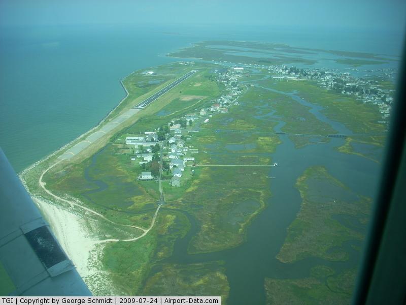 Tangier Island Airport (TGI) - Very Short Runway