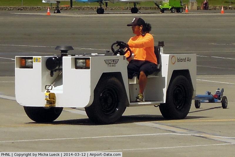 Honolulu International Airport, Honolulu, Hawaii United States (PHNL) - Tug
