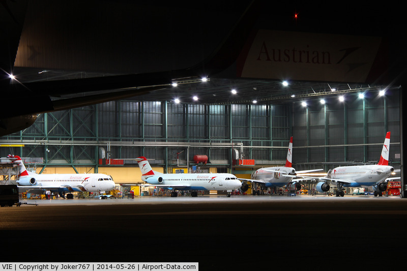 Vienna International Airport, Vienna Austria (VIE) - Austrian Airlines Hangar 2