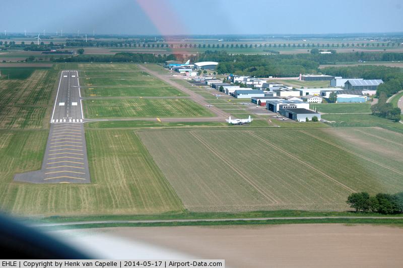 vliegveld lelystad aanvliegroute