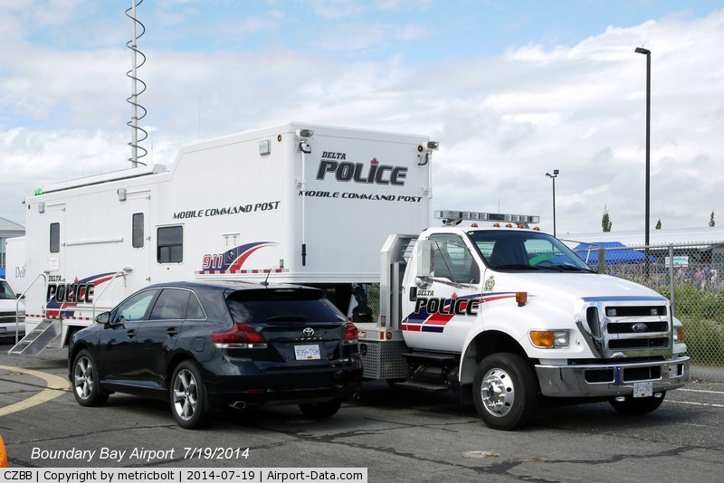 Boundry Bay Airport, Boundry Bay Canada (CZBB) - Police presence at the Boundary Bay Airshow 2014