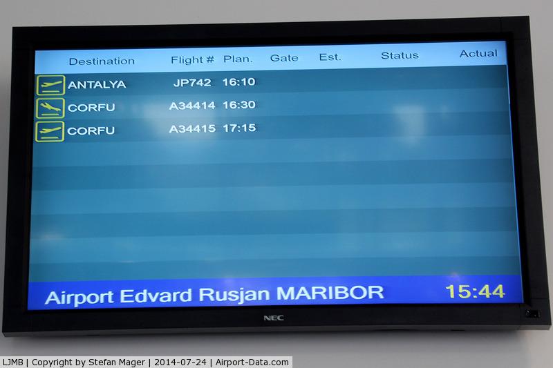 Maribor Airport, Maribor Slovenia (LJMB) - Maribor Airport