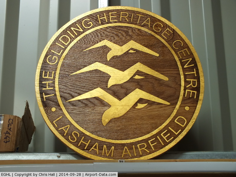 Lasham Airfield Airport, Basingstoke, England United Kingdom (EGHL) - Gliding Heritage Centre, Lasham