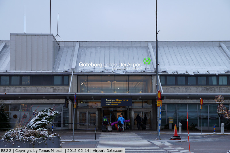 Göteborg-Landvetter Airport, Göteborg Sweden (ESGG) - Landvetter terminal buliding