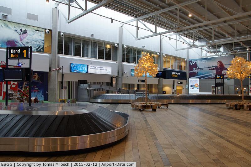 Göteborg-Landvetter Airport, Göteborg Sweden (ESGG) - Baggage claim