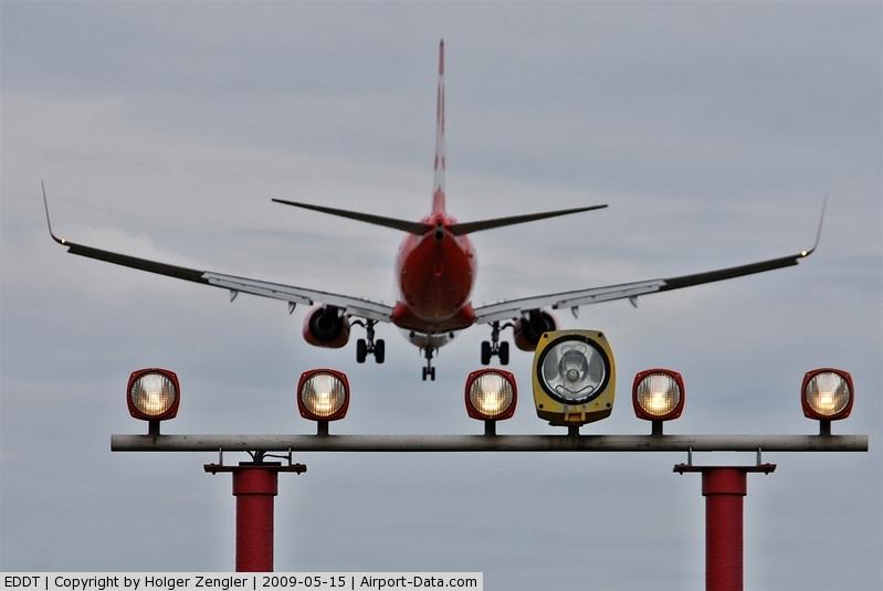 Tegel International Airport (closing in 2011), Berlin Germany (EDDT) - At photo position rwy 08R....