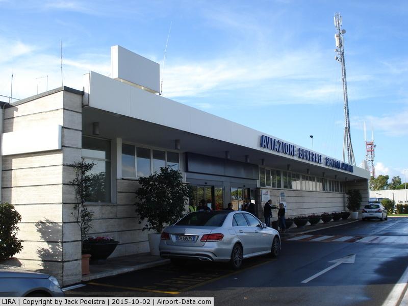 Ciampino Airport (Giovan Battista Pastine Airport), Rome Italy (LIRA) - General aviation terminal