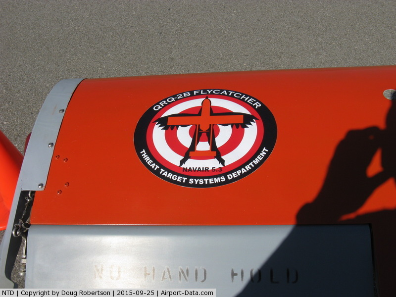 Point Mugu Nas (naval Base Ventura Co) Airport (NTD) - QRQ-2B FLYCATCHER Drone, data/logo