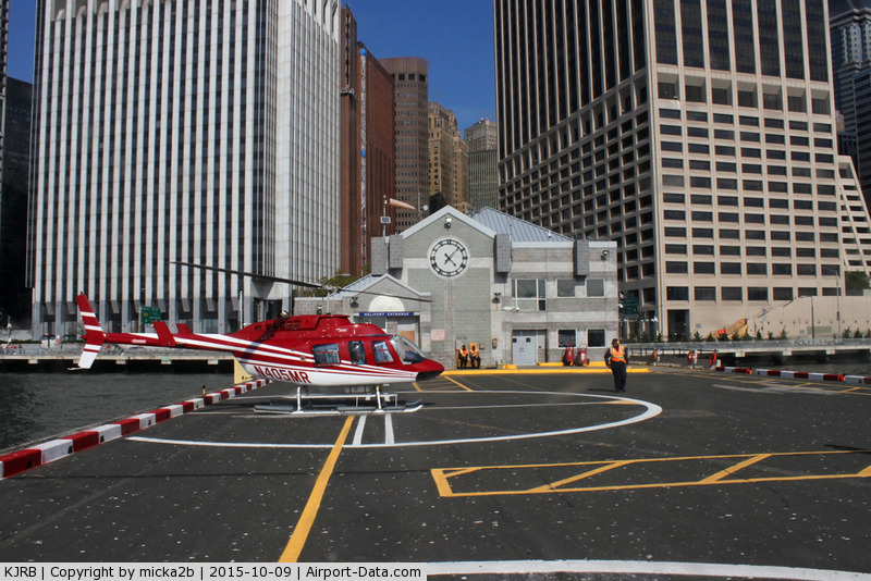 Downtown Manhattan/wall St Heliport (JRB) - Pier 6 Heliport View