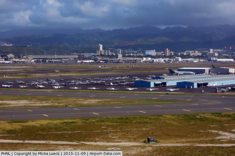 Honolulu International Airport, Honolulu, Hawaii United States (PHNL) - General aviation apron