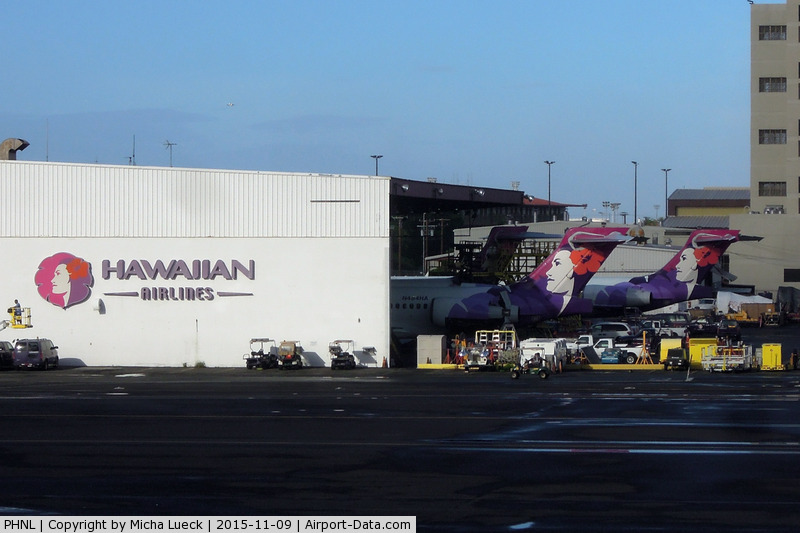 Honolulu International Airport, Honolulu, Hawaii United States (PHNL) - Maintenance base for Hawaiian