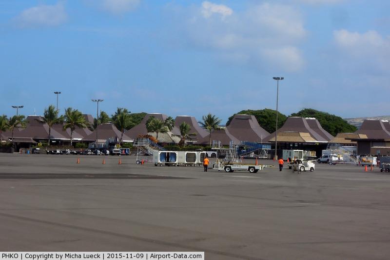 Kona International Airport, Kailua-Kona, Hawaii United States (PHKO) - Welcome to sunny Kailua-Kona
