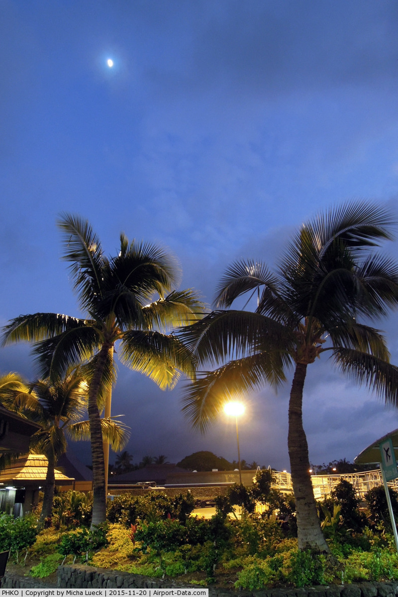 Kona International Airport, Kailua-Kona, Hawaii United States (PHKO) - At Kailua-Kona