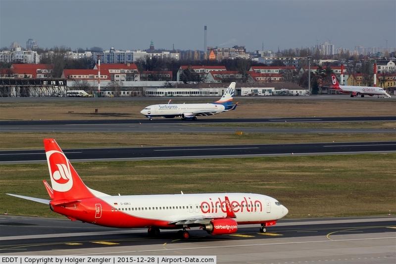 Tegel International Airport (closing in 2011), Berlin Germany (EDDT) - Wide view over TXL airfield....
