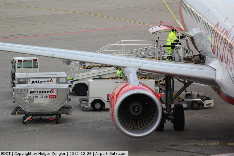 Tegel International Airport (closing in 2011), Berlin Germany (EDDT) - Business as usual on apron.....