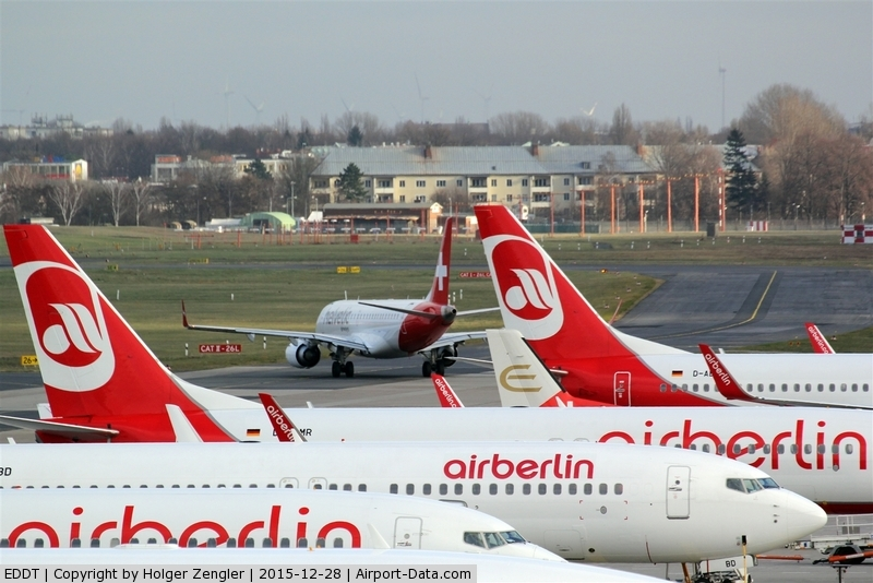 Tegel International Airport (closing in 2011), Berlin Germany (EDDT) - Dominant colors on TXL are.......