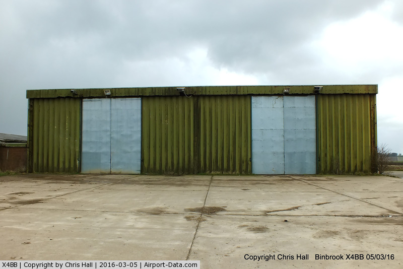 X4BB Airport - QRA shed at the former RAF Binbrook