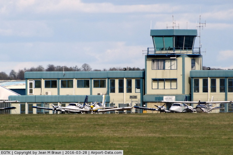 Oxford Airport, Oxford, England United Kingdom (EGTK) - London Oxford Airport, home to Oxford Aviation Academy, the largest air training school in Europe