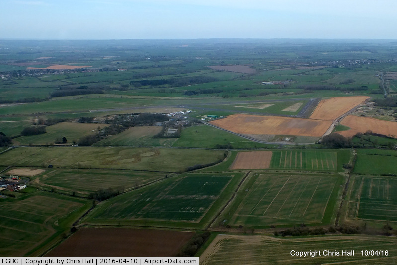 Leicester Airport, Leicester, England United Kingdom (EGBG) - Leicester Airport. former RAF Leicester East, Home to RAF 190 sqn and 196 sqn which operated Short Stirling