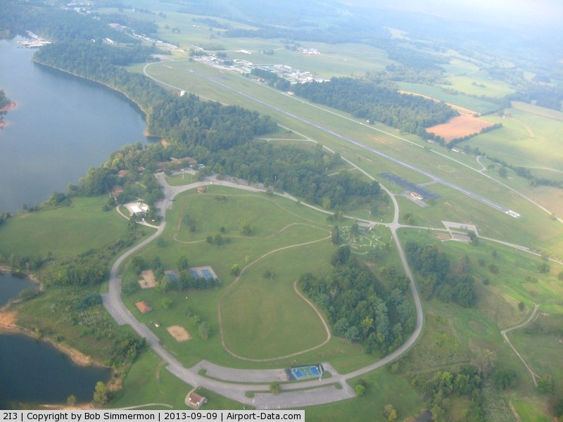 Rough River State Park Airport (2I3) - Looking west