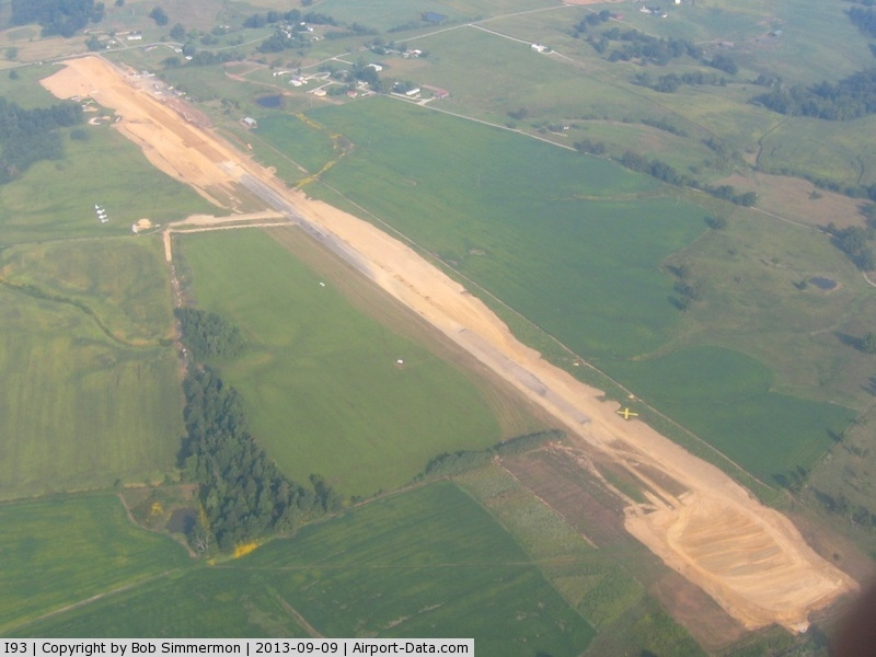 Breckinridge County Airport (I93) - Looking NW
