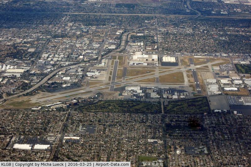Long Beach /daugherty Field/ Airport (LGB) - taken from ZK-OKO (AKL-LAX)