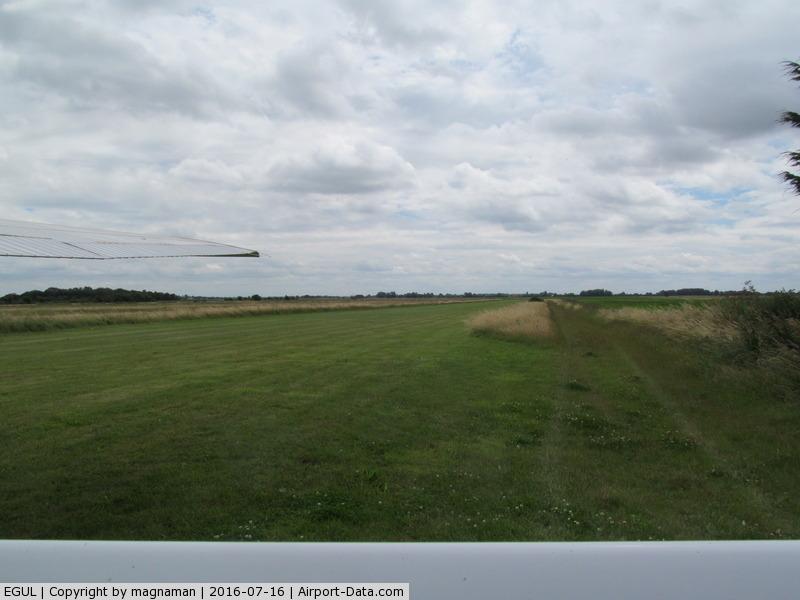 RAF Lakenheath Airport, Lakenheath, England United Kingdom (EGUL) - Mitchells Farm - near Lakenheath. Nice grass strip at end of lane from Farm. Thanks Adrian for great hospitality.