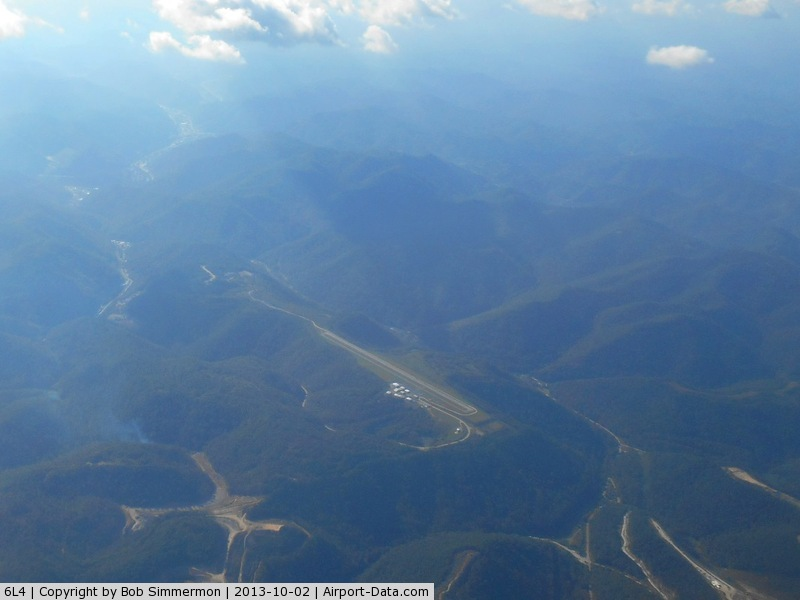 Logan County Airport (6L4) - Looking NW from 10,000 ft.