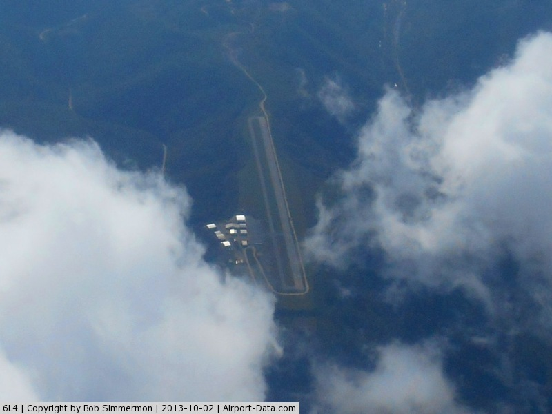 Logan County Airport (6L4) - Looking west from 10,000 ft.