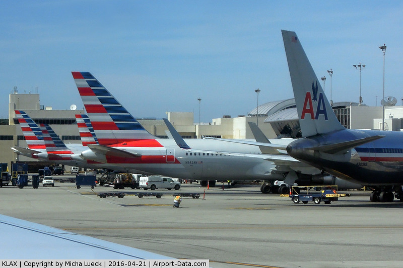 Los Angeles International Airport (LAX) - The old and the new AA