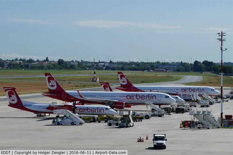 Tegel International Airport (closing in 2011), Berlin Germany (EDDT) - TXL waving good bye tour no.4 since 2011